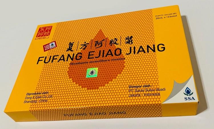 Fufang Ejiao Jiang - Solusi Ngantuk dan Lelah