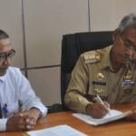PT. Taspen dan Pemkab Lutim Tandatangani MoU Asuransi Jiwa Taspen