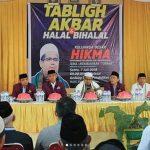 HIKMA Lutim Gelar Tabliq Akbar dan Halal Bi Halal
