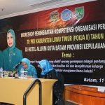 TP PKK Lutim Laksanakan Workshop Peningkatan Kompetensi Organisasi Perempuan