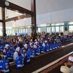 Bupati Lutim Resmi Melepas Keberangkatan 160 Jamaah Calon Haji Kloter 32 Luwu Timur