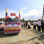 Rangkaian Peringatan HUT RI ke-73 Luwu Timur Dibuka Dengan Pawai Kendaraan Hias