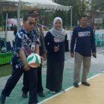 Sekda Lutim Buka Turnamen Bola Voli Antar Klub