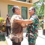 Wabup Irwan Sambut Kunjungan Pangdam XIV Hasanuddin